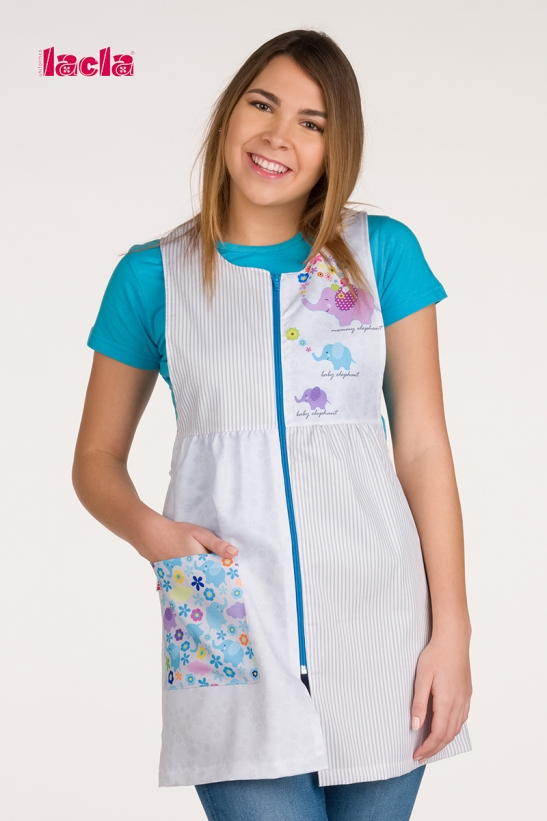 BUTTERFLIES SCHOOL SMOCK