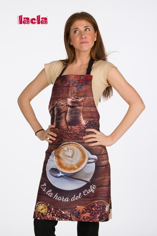 COFFE PATTERN APRON