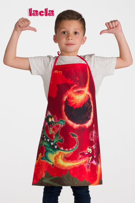 6 PACK OF CHILDISH PAINT APRONS
