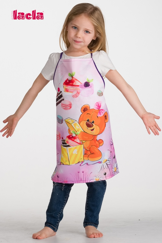 2 PACK OF CHILDISH TEDDY BEAR APRONS