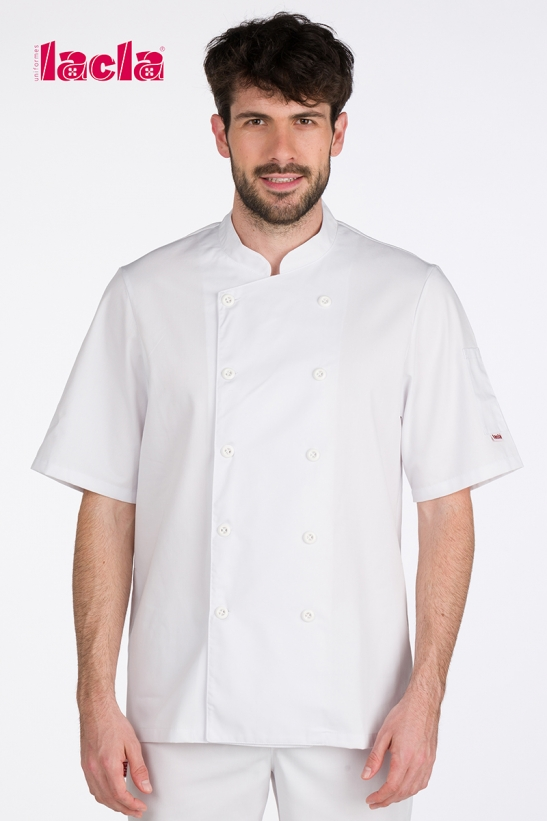 WHITE DRY BACK CHEF'S COAT
