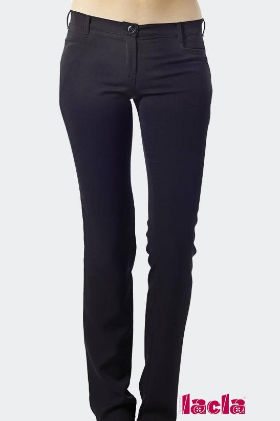 MRS. SPANDEX TROUSERS WITH POCKETS