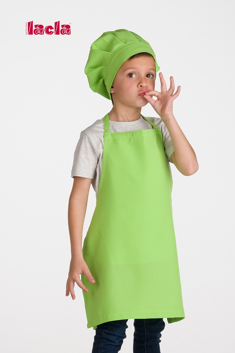 PACK OF CHILDISH APRON AND HAT