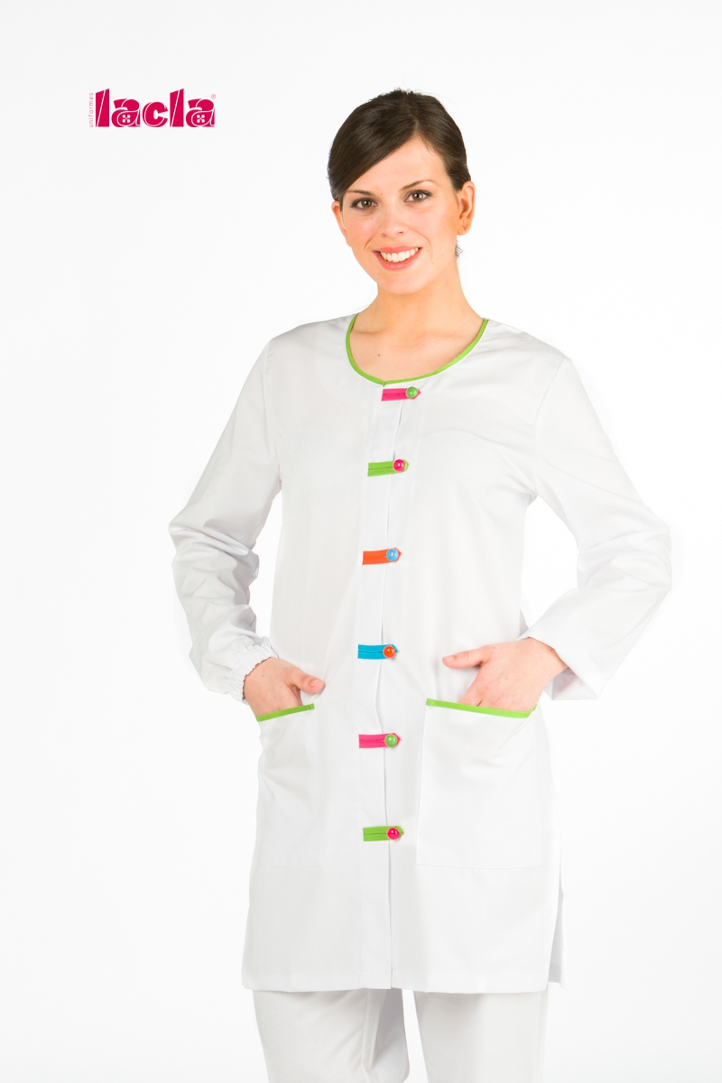 OVERALL WITH COLORFUL BELT LOOPS