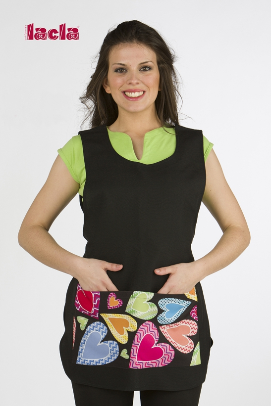 HEARTS POLYESTER CAPE