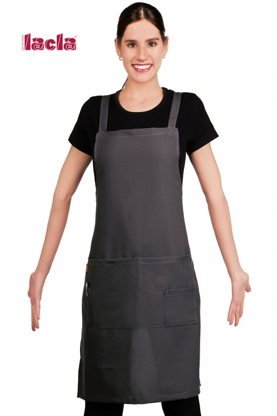 POLYESTER APRON WITH CHEST GUARD