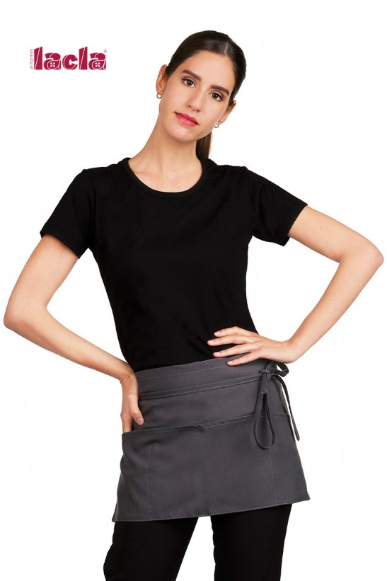 SHORT APRON WITH 5 POCKETS